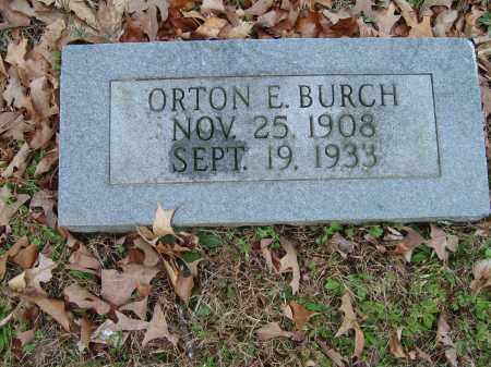BURCH, ORTON - Stone County, Arkansas | ORTON BURCH - Arkansas Gravestone Photos