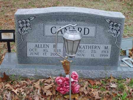 CANARD, ALLEN - Stone County, Arkansas | ALLEN CANARD - Arkansas Gravestone Photos