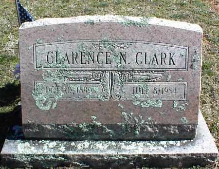 CLARK, CLARENCE N. - Stone County, Arkansas   CLARENCE N. CLARK - Arkansas Gravestone Photos