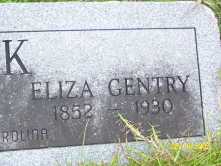 GENTRY CLARK, ELIZA - Stone County, Arkansas | ELIZA GENTRY CLARK - Arkansas Gravestone Photos