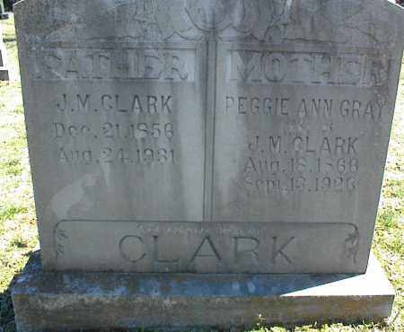 GRAY CLARK, PEGGIE ANN - Stone County, Arkansas | PEGGIE ANN GRAY CLARK - Arkansas Gravestone Photos