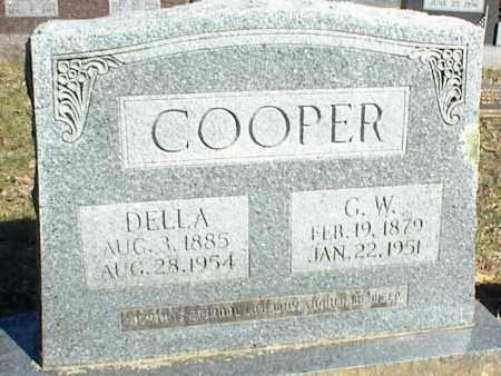 COOPER, DELLA - Stone County, Arkansas   DELLA COOPER - Arkansas Gravestone Photos