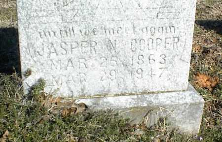 COOPER, JASPER N. - Stone County, Arkansas | JASPER N. COOPER - Arkansas Gravestone Photos