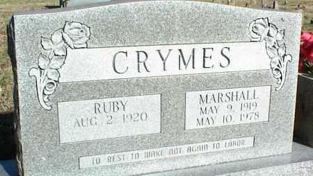 CRYMES, MARSHALL - Stone County, Arkansas | MARSHALL CRYMES - Arkansas Gravestone Photos