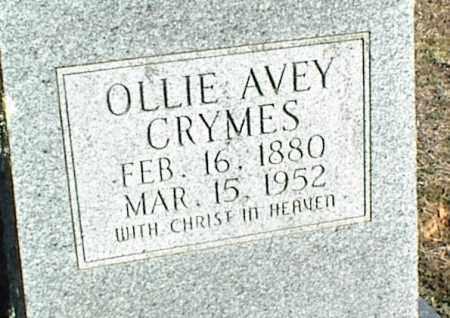 CRYMES, OLLIE - Stone County, Arkansas | OLLIE CRYMES - Arkansas Gravestone Photos