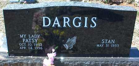 DARGIS, PATSY - Stone County, Arkansas | PATSY DARGIS - Arkansas Gravestone Photos