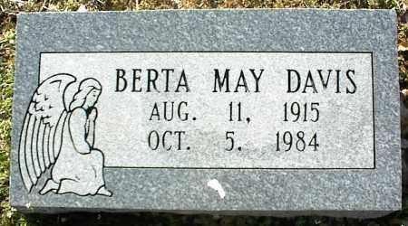 DAVIS, BERTA MAY - Stone County, Arkansas   BERTA MAY DAVIS - Arkansas Gravestone Photos