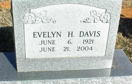 DAVIS, EVELYN H. - Stone County, Arkansas   EVELYN H. DAVIS - Arkansas Gravestone Photos