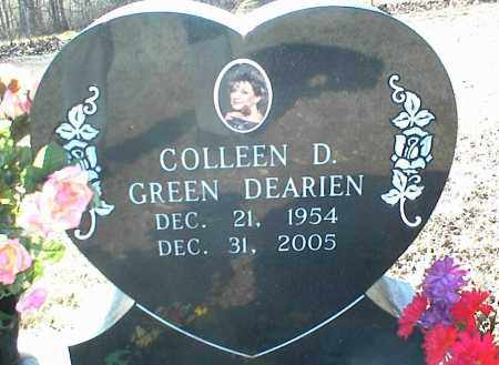 DEARIEN, COLLEEN D. - Stone County, Arkansas | COLLEEN D. DEARIEN - Arkansas Gravestone Photos