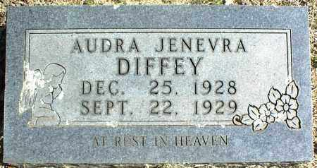 DIFFEY, AUDRA JENEVRA - Stone County, Arkansas | AUDRA JENEVRA DIFFEY - Arkansas Gravestone Photos