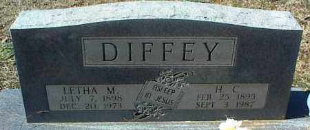 DIFFEY, LETHA M. - Stone County, Arkansas | LETHA M. DIFFEY - Arkansas Gravestone Photos