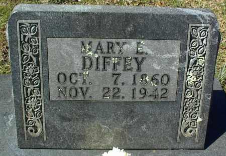 DIFFEY, MARY E. - Stone County, Arkansas | MARY E. DIFFEY - Arkansas Gravestone Photos