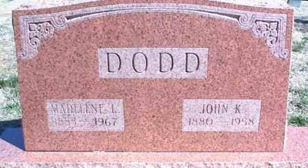DODD, MADELENE L. - Stone County, Arkansas | MADELENE L. DODD - Arkansas Gravestone Photos