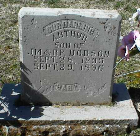 DODSON, ARTHUR - Stone County, Arkansas | ARTHUR DODSON - Arkansas Gravestone Photos