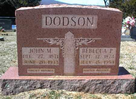 DODSON, JOHN M. - Stone County, Arkansas | JOHN M. DODSON - Arkansas Gravestone Photos