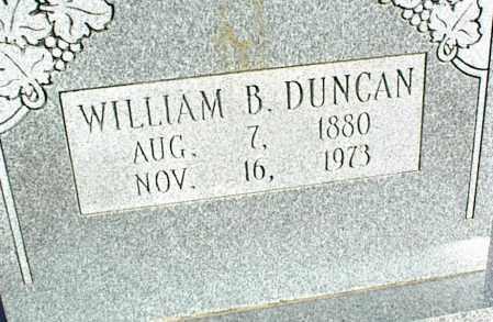 DUNCAN, WILLIAM B. - Stone County, Arkansas | WILLIAM B. DUNCAN - Arkansas Gravestone Photos