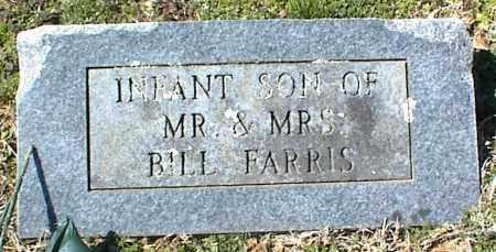 FARRIS, INFANT SON - Stone County, Arkansas   INFANT SON FARRIS - Arkansas Gravestone Photos