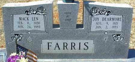 FARRIS, JOY - Stone County, Arkansas | JOY FARRIS - Arkansas Gravestone Photos