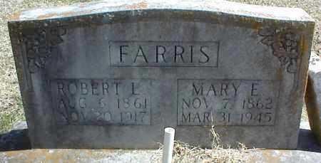 FARRIS, MARY E. - Stone County, Arkansas | MARY E. FARRIS - Arkansas Gravestone Photos