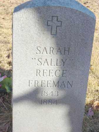 REECE FREEMAN, SARAH SALLY - Stone County, Arkansas   SARAH SALLY REECE FREEMAN - Arkansas Gravestone Photos