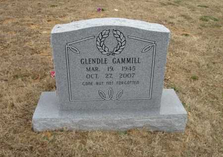 GAMMILL, GLENDLE - Stone County, Arkansas | GLENDLE GAMMILL - Arkansas Gravestone Photos