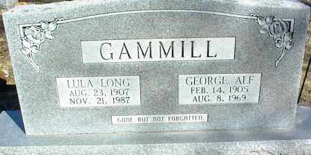 LONG GAMMILL, LULA - Stone County, Arkansas | LULA LONG GAMMILL - Arkansas Gravestone Photos