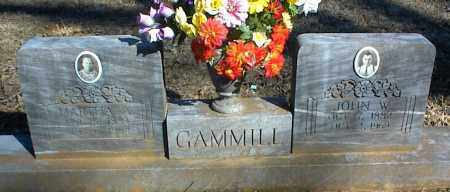 GAMMILL, MARTHA A. - Stone County, Arkansas | MARTHA A. GAMMILL - Arkansas Gravestone Photos