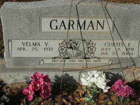 GARMAN, CURTIS E - Stone County, Arkansas | CURTIS E GARMAN - Arkansas Gravestone Photos
