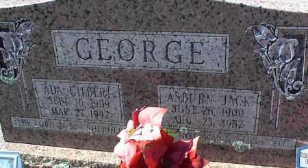 GEORGE, ADA GILBERT - Stone County, Arkansas | ADA GILBERT GEORGE - Arkansas Gravestone Photos