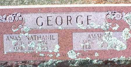 GEORGE, AMANDA - Stone County, Arkansas | AMANDA GEORGE - Arkansas Gravestone Photos