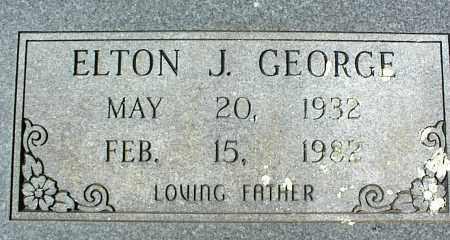 GEORGE, ELTON J. - Stone County, Arkansas   ELTON J. GEORGE - Arkansas Gravestone Photos
