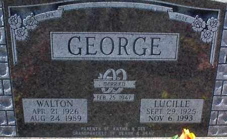 GEORGE, LUCILLE - Stone County, Arkansas   LUCILLE GEORGE - Arkansas Gravestone Photos