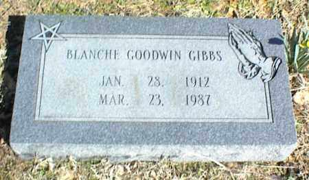 GOODWIN GIBBS, BLANCHE - Stone County, Arkansas | BLANCHE GOODWIN GIBBS - Arkansas Gravestone Photos