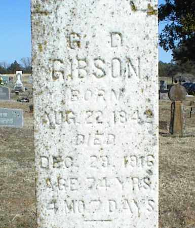 GIBSON, GEORGE DAY - Stone County, Arkansas | GEORGE DAY GIBSON - Arkansas Gravestone Photos