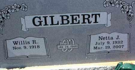 GILBERT, NETTA J. - Stone County, Arkansas   NETTA J. GILBERT - Arkansas Gravestone Photos