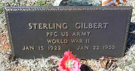 GILBERT (VETERAN WWII), STERLING - Stone County, Arkansas | STERLING GILBERT (VETERAN WWII) - Arkansas Gravestone Photos