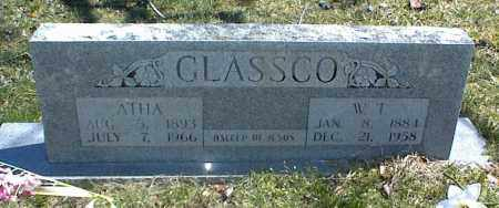 GLASSCO, W. T. - Stone County, Arkansas | W. T. GLASSCO - Arkansas Gravestone Photos