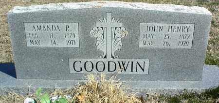 GOODWIN, AMANDA R. - Stone County, Arkansas | AMANDA R. GOODWIN - Arkansas Gravestone Photos