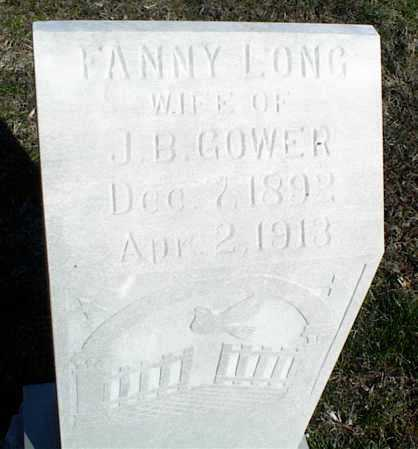 GOWER, FANNY XXXX - Stone County, Arkansas | FANNY XXXX GOWER - Arkansas Gravestone Photos