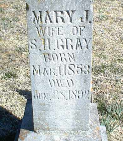GRAY, MARY J. - Stone County, Arkansas   MARY J. GRAY - Arkansas Gravestone Photos
