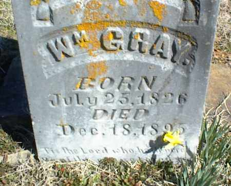 GRAY, WILLIAM - Stone County, Arkansas | WILLIAM GRAY - Arkansas Gravestone Photos
