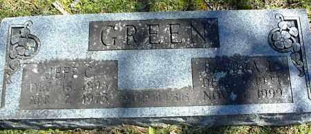 GREEN, BARBRA L. - Stone County, Arkansas | BARBRA L. GREEN - Arkansas Gravestone Photos