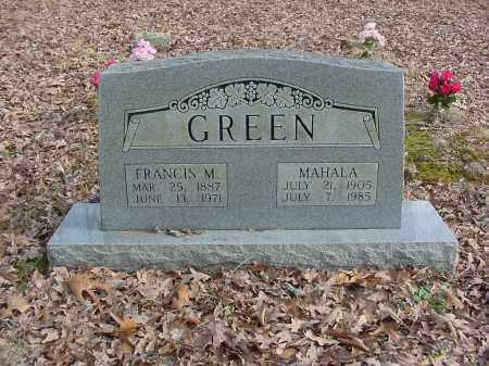 GREEN, MAHALA - Stone County, Arkansas | MAHALA GREEN - Arkansas Gravestone Photos