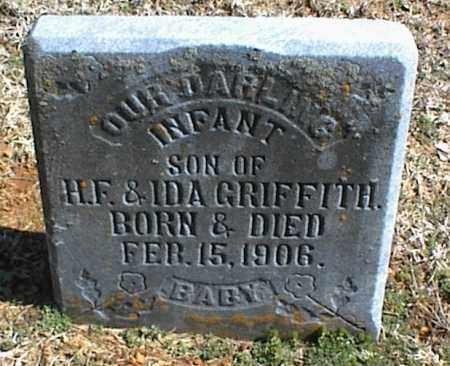 GRIFFITH, INFANT SON - Stone County, Arkansas   INFANT SON GRIFFITH - Arkansas Gravestone Photos