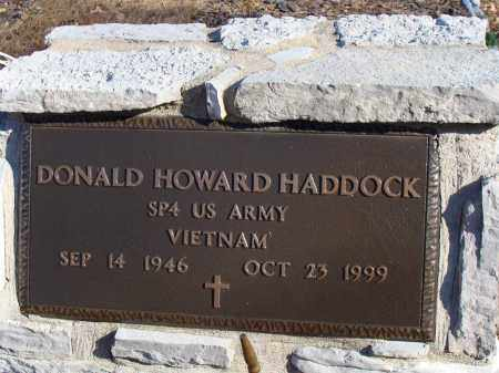 HADDOCK (VETERAN VIET), DONALD HOWARD - Stone County, Arkansas | DONALD HOWARD HADDOCK (VETERAN VIET) - Arkansas Gravestone Photos