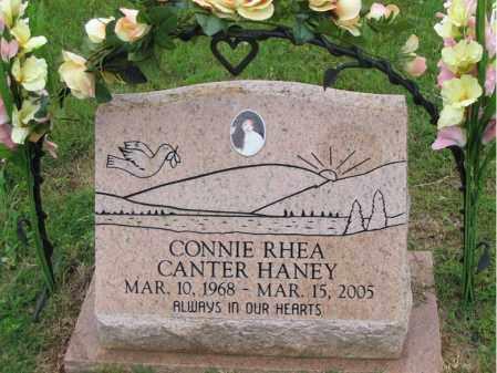 CANTER HANEY, CONNIE RHEA - Stone County, Arkansas   CONNIE RHEA CANTER HANEY - Arkansas Gravestone Photos