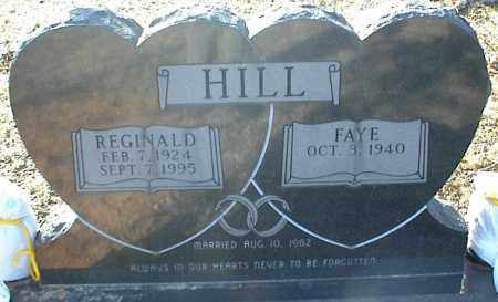 HILL, REGINALD - Stone County, Arkansas | REGINALD HILL - Arkansas Gravestone Photos