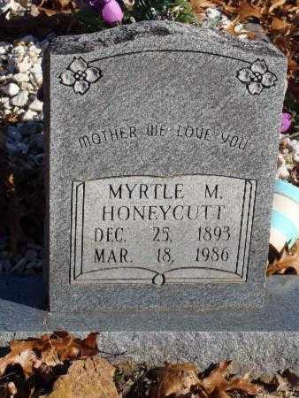 DAVIS HONEYCUTT, MYRTLE M - Stone County, Arkansas | MYRTLE M DAVIS HONEYCUTT - Arkansas Gravestone Photos