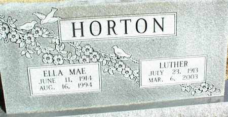 HORTON, LUTHER - Stone County, Arkansas | LUTHER HORTON - Arkansas Gravestone Photos