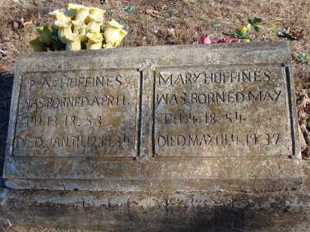 HUFFINES, MARY E. - Stone County, Arkansas | MARY E. HUFFINES - Arkansas Gravestone Photos